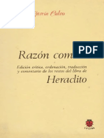 Garcia Calvo Agustin - Lecturas Presocraticas II - Razon Comun - Heraclito.pdf