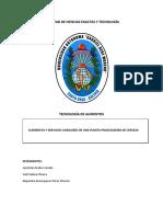 Elementos y Servicios Auxiliares de Una Planta Procesadora de Cerveza (2)