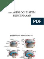 Embriologi Digestive