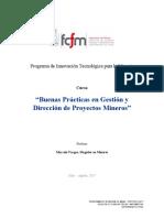 Buenas Practicas en Gestion y Direccion de Proyectos Mineros