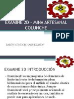 Examine 2d – Mina Artesanal Colunche