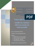 Taller 10 - Tanque Séptico