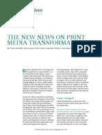 BCG the New News on Print Media Transformation