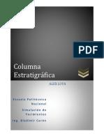 Columna Estratrigrafica Loya Alex