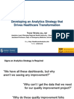 Digitalhealthexpo Strome Dataanalyticsstrategy 2014-03-20shared 140407175551 Phpapp01