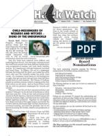 May-Summer 2010 Wingtips Newsletter Prescott Audubon Society