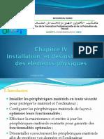 Chapitre IV Installer Des Elements Physiques TSSRI TRI TDI