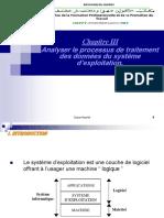 Chapitre III Analyser Le Processus de Traitement Des Donnees Du SE TSSRI TRI TDI