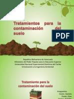 tratamiento a la contaminacion del suelo- intro a la ing.pptx