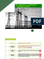 Produccion, Transporte y Almacenamiento de Energia Electrica