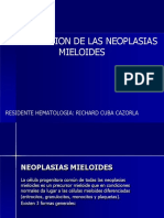 NEOPLASIAS MIELOIDES