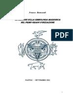 Biancardi, Riflessione sulla simbologia massonica del primo grado.pdf