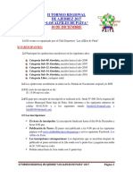 II Torneo Regional de Ajedrez - Los Alfiles de Paita 2017