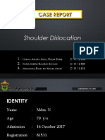 Shoulder Dislocation