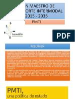 Exposicion Plan Maestro de Trnasporte Intermodal