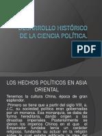 Desarrollo Histórico de La Ciencia Política