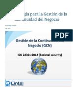 Metodolog#U00eda Para La Gesti#U00f3n de La Continuidad Del Negocio
