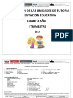 Unidades Tutoria 4to 2017 MODIFICADO