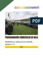 Carpeta Pedgogica 2016-Vilma