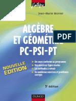 Algebre Et Geometrie PC-PSI-PT