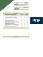 Formato evaluación practicas de una universidad