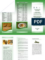 Tríptico Hamburguesas de Lenteja y Zucchini