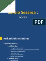Seksio Sesarea - optek