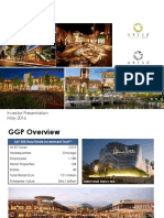 GGP General Growth Properties May 2016 Investor Presentation