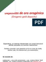 Presentacion Depositos de Oro Orogenico