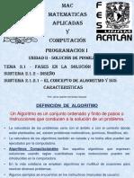 2.1.2.1 Concepto Algoritmo-Características-Presenta (1)