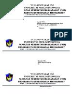 Amplop Fkm Umi Magang k3