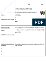 guided notes - experimental and theoretical probability