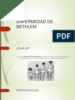 Enfermedad de Bethlem
