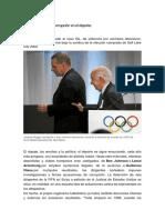La Larga Historia de Corrupción en El Deporte
