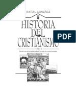03 Justo L Gonzalez Historia Del Cristianismo