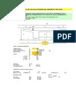II.1 y III Calculos Puente Carrozable Colpahuayco y Metrados (Modificado)