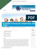 El Enfoque Curricular Por Competencias, Realidad o Utopía _ RUDICS