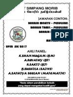 Jawapan Contoh UPSR 2017semua