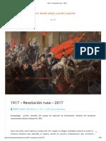 1917 Revolución Rusa 2017 , por Aldo Casas