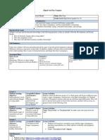 digital unit plan template