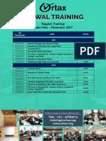 Jadwal Training Ortax