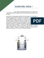Electrolisis Del Agu1