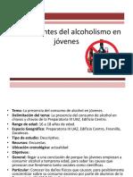 Antecedentes Del Alcoholismo en Jóvenes