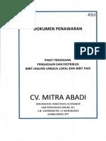 Cover Penawaran Jagung Mitra Abadi