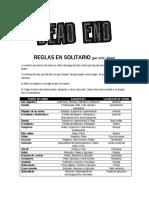 Dead End Regla Sen Solita Rio