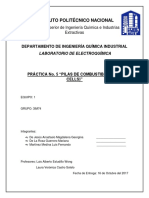Practica 5. Electroquimica