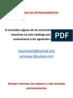 Catalogo de Ejercicios