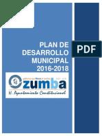 Plan de Desarrollo Municipal Ozumba 1618