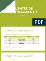 Fuentes de Financiamiento Nuevo