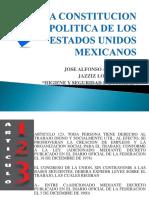 La Constitucion Politica de Los Estados Unidos Mexicanos